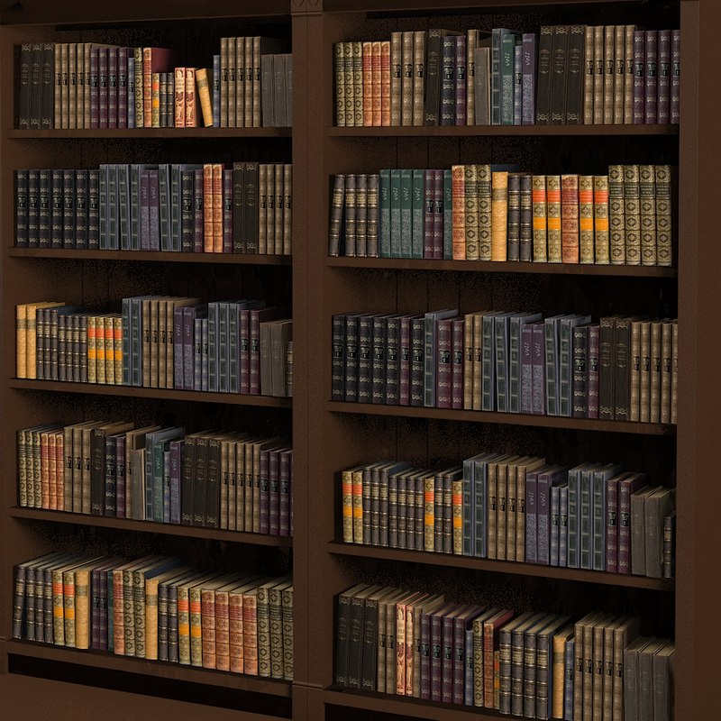 Library book collection classic traditional vintage antique old set.jpg