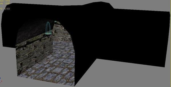 Dungeon Part 3 3D Models