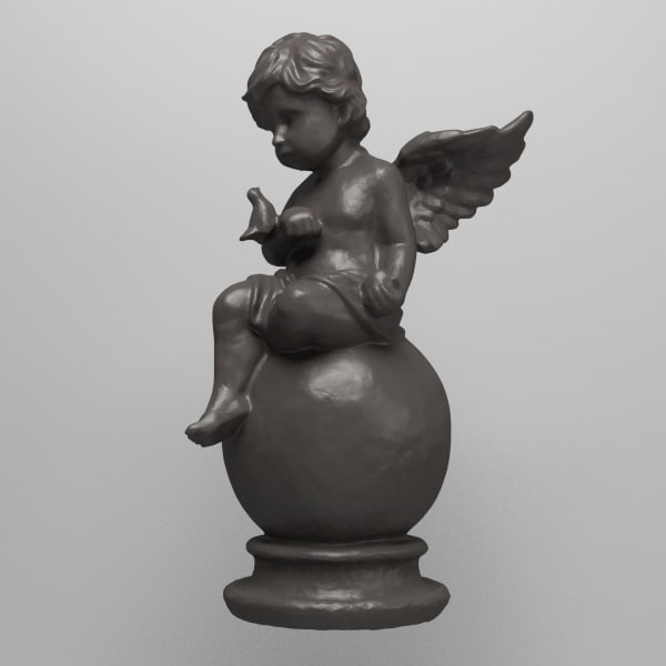 Angel With Dove 3D Models