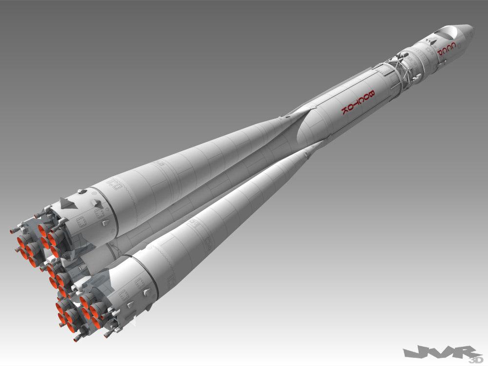 vostok rocket model - photo #2