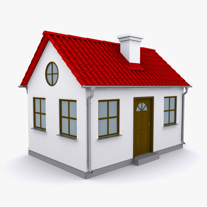 Small House 3d Max