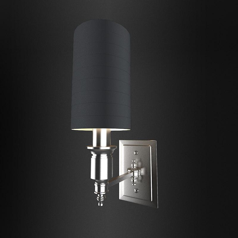 lamp napa single 3d model