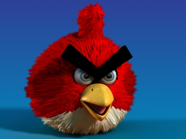 Angry Bird 3D Models