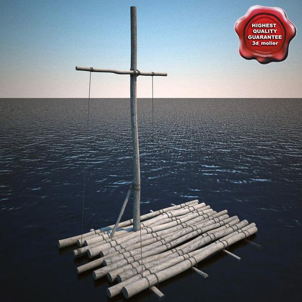 Raft V2 3D Models