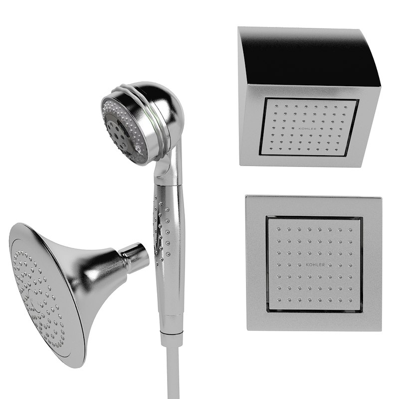kohler forte  shower head  modern contemporary bodyspray handshower showerhead sprayhead bathroom.jpg