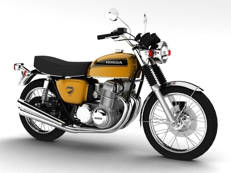Honda CB750 Four K0 1969
