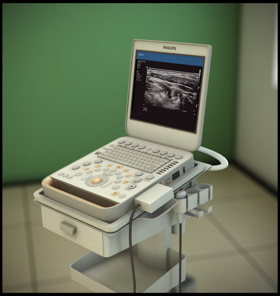 Philips CX50 Ultrasound 3D Models