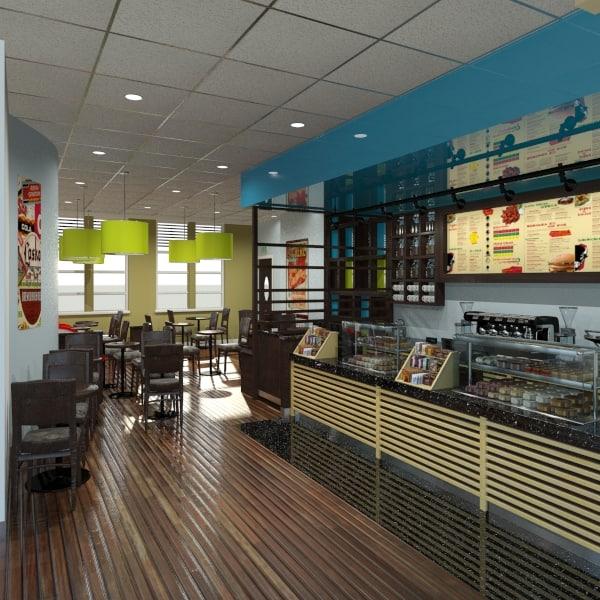 Restaurant - Bistro 3D Models