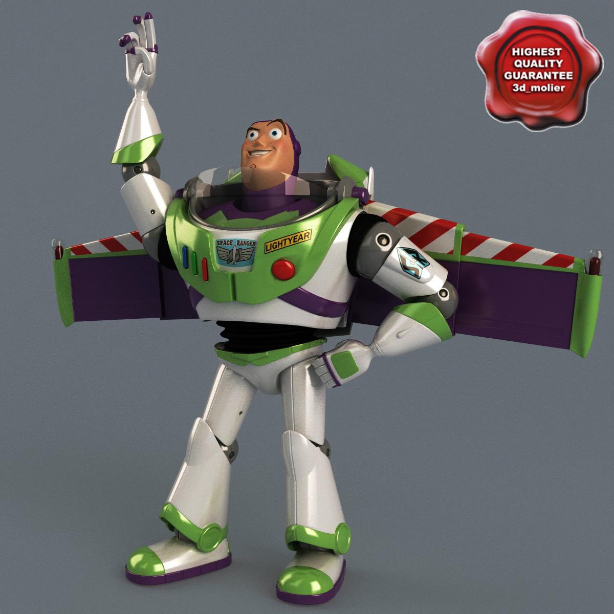 Buzz Lightyear Pose 3
