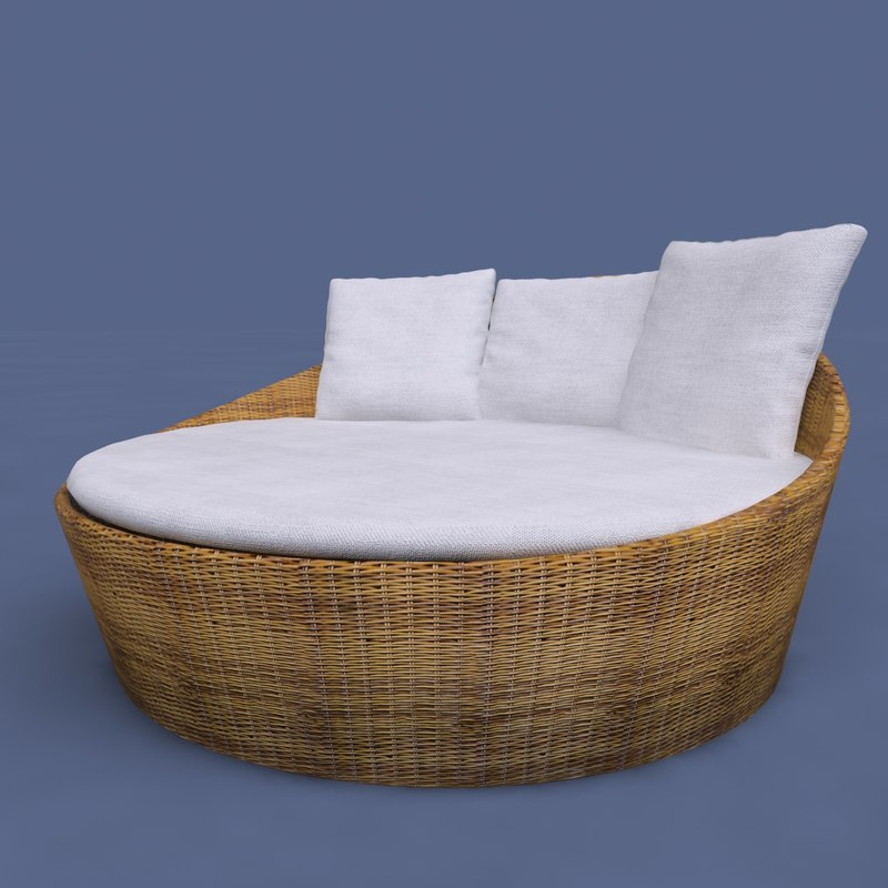 Circular DayBed