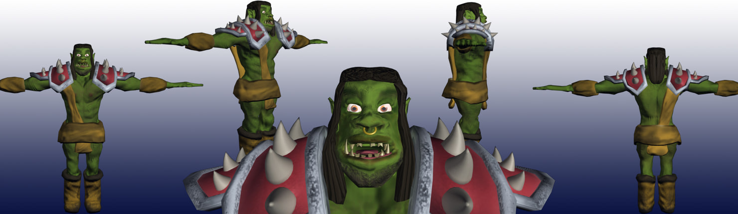 3d orcs naked movie