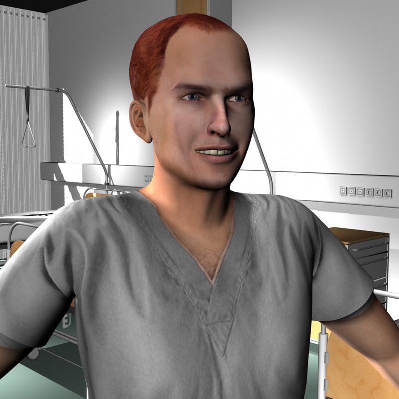 Medical Staff Male 43