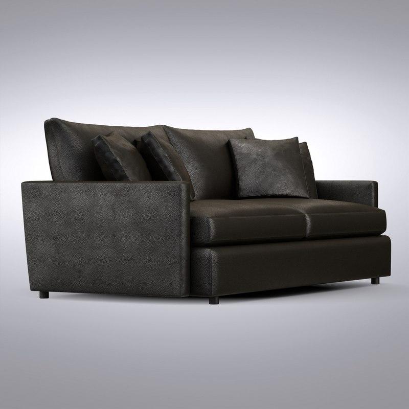 crate barrel   lounge 3d max