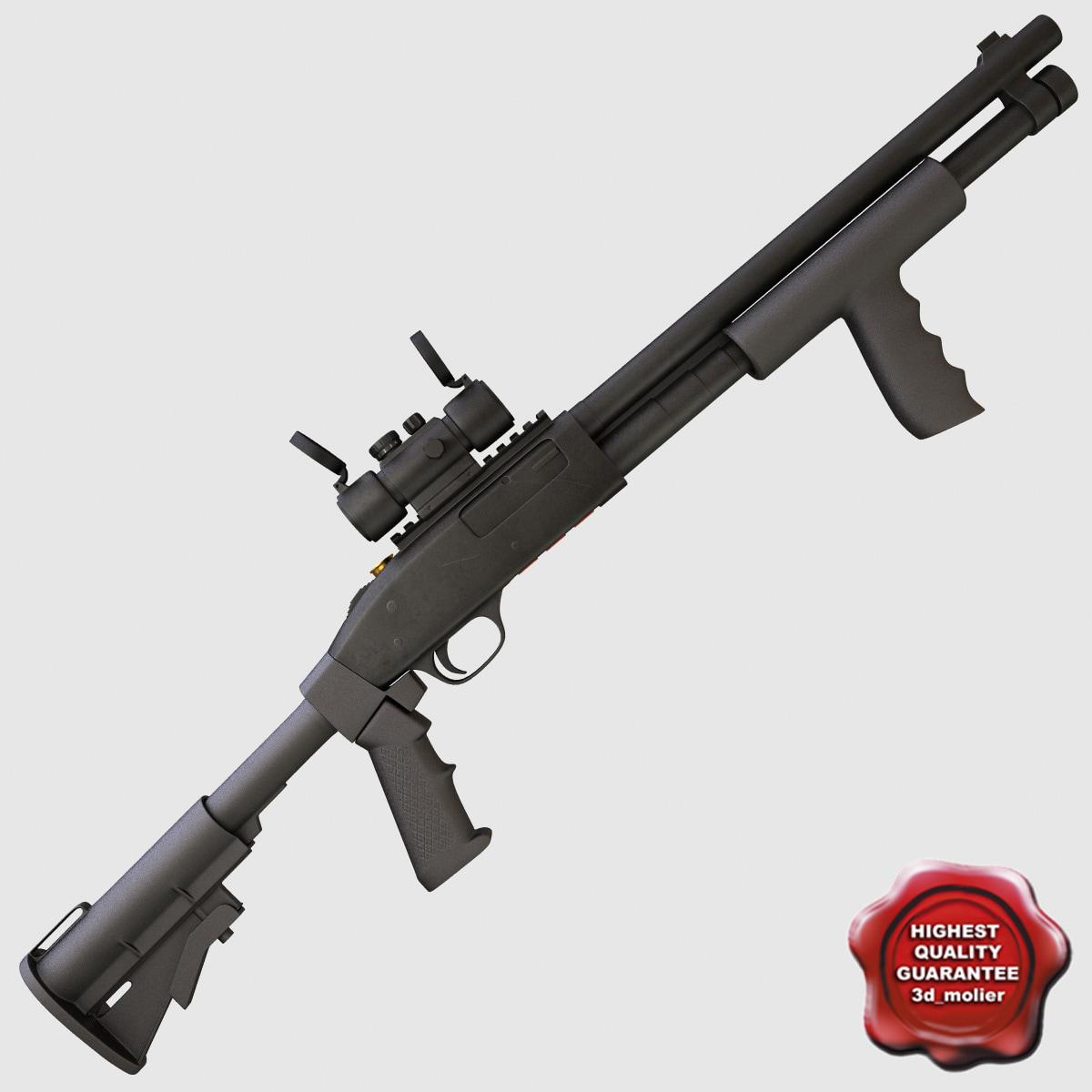 shotgun mossberg 590a tactical 3ds
