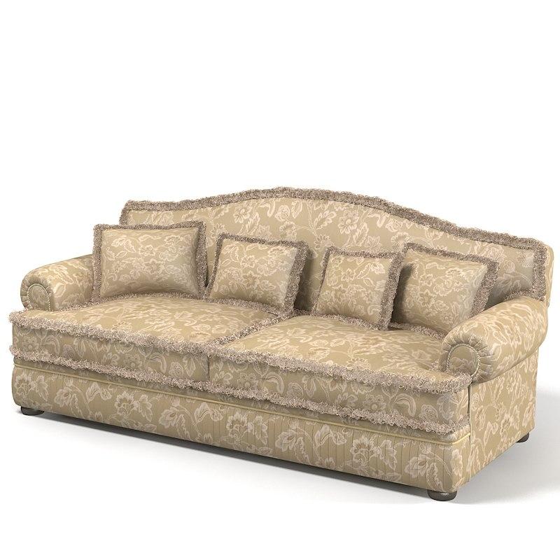 Max Ceppi Classic Sofa