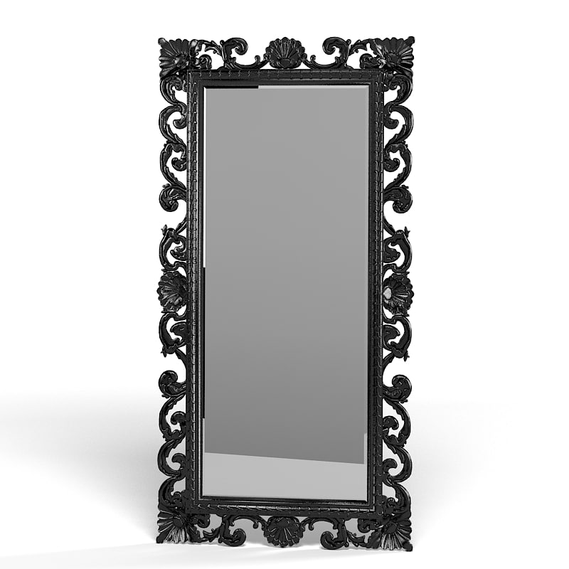 Floor mirror classic carved baroque big tall carving picture frame.jpg
