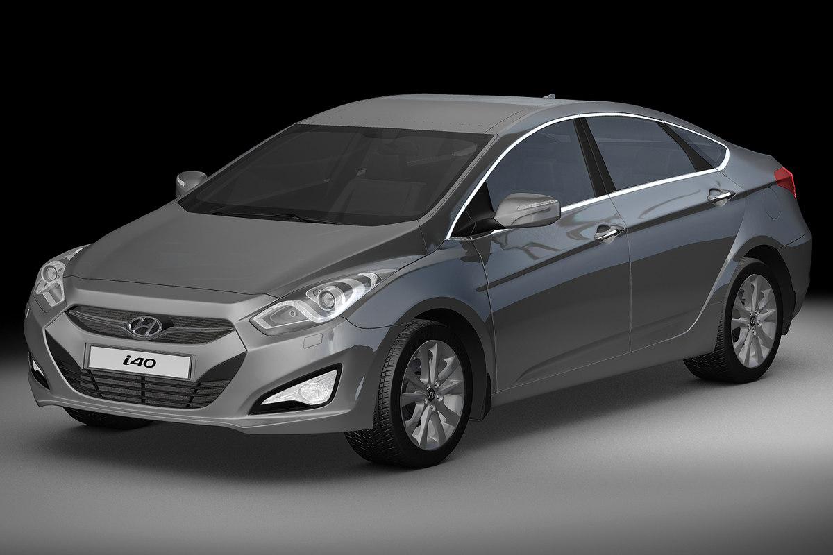 2012 Hyundai i40 Sedan