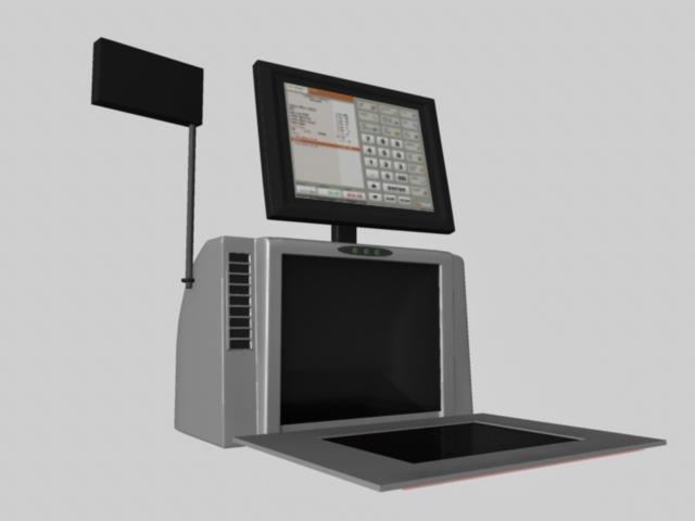 Cash Scanner machine