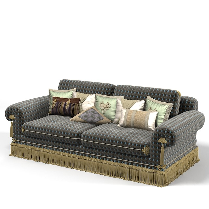 Provasi hektor pr2931-617 classic traditional sofa upholstery with luxury pillow set.jpg