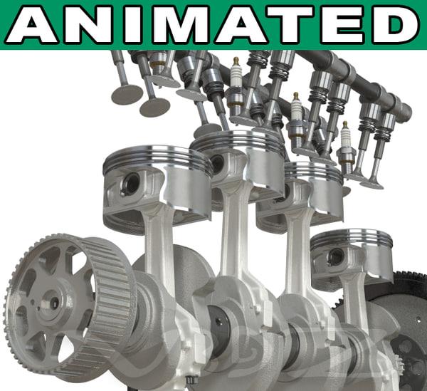 Engine 3D Models