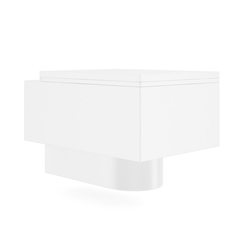 Square Toilet Bowl