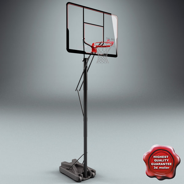 Basketball Rim V3 3D Models