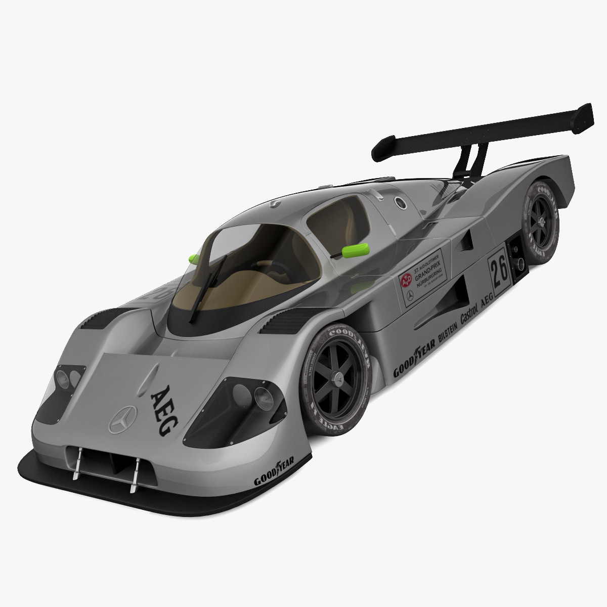 Mercedes Sauber C9 Gray