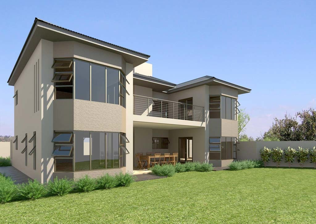 3d Model House Architectural Modern