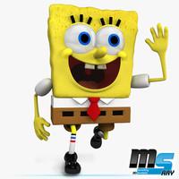 Spongebob 3D models