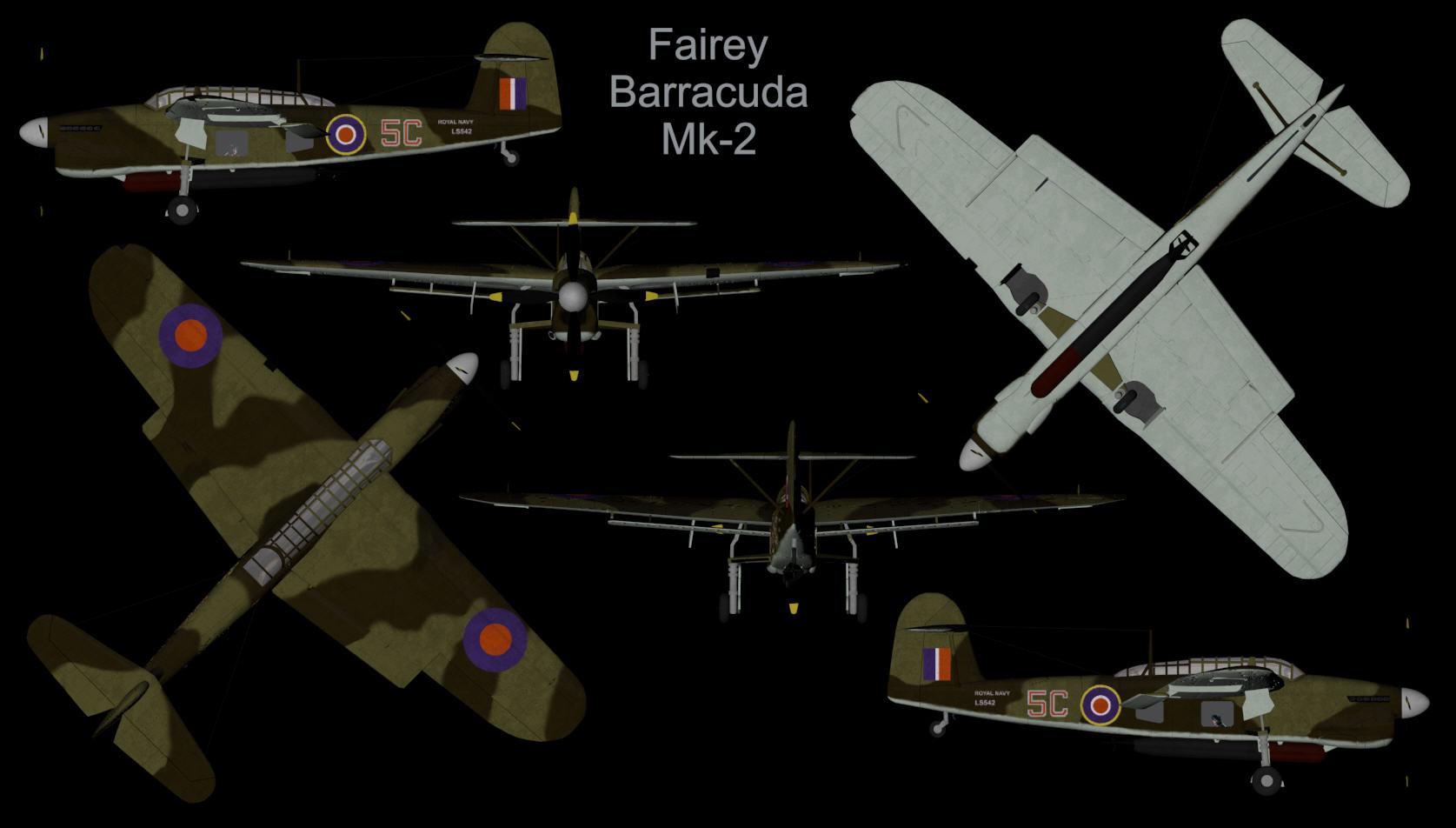 Fairey Barracuda Mk-2