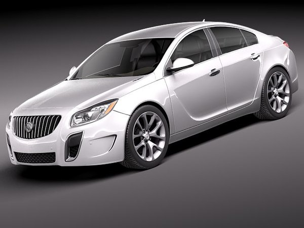 Buick Regal GS 2012 3D Models