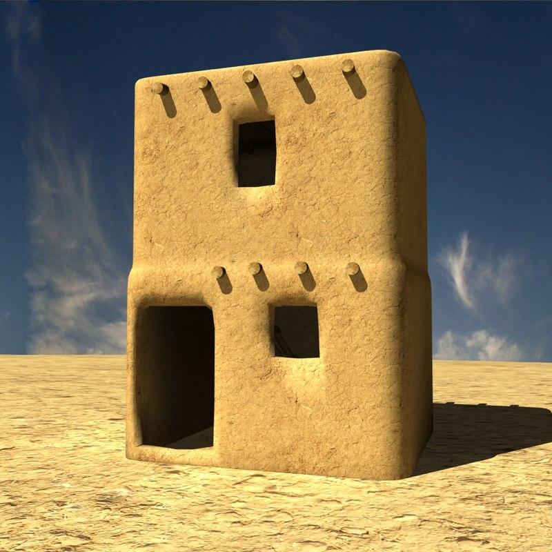 Afghanistan house village
