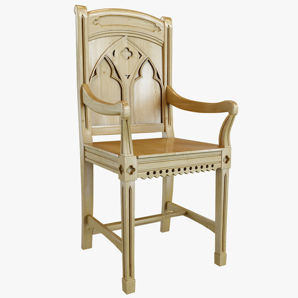 Bishop Pine Armchair 3D Models