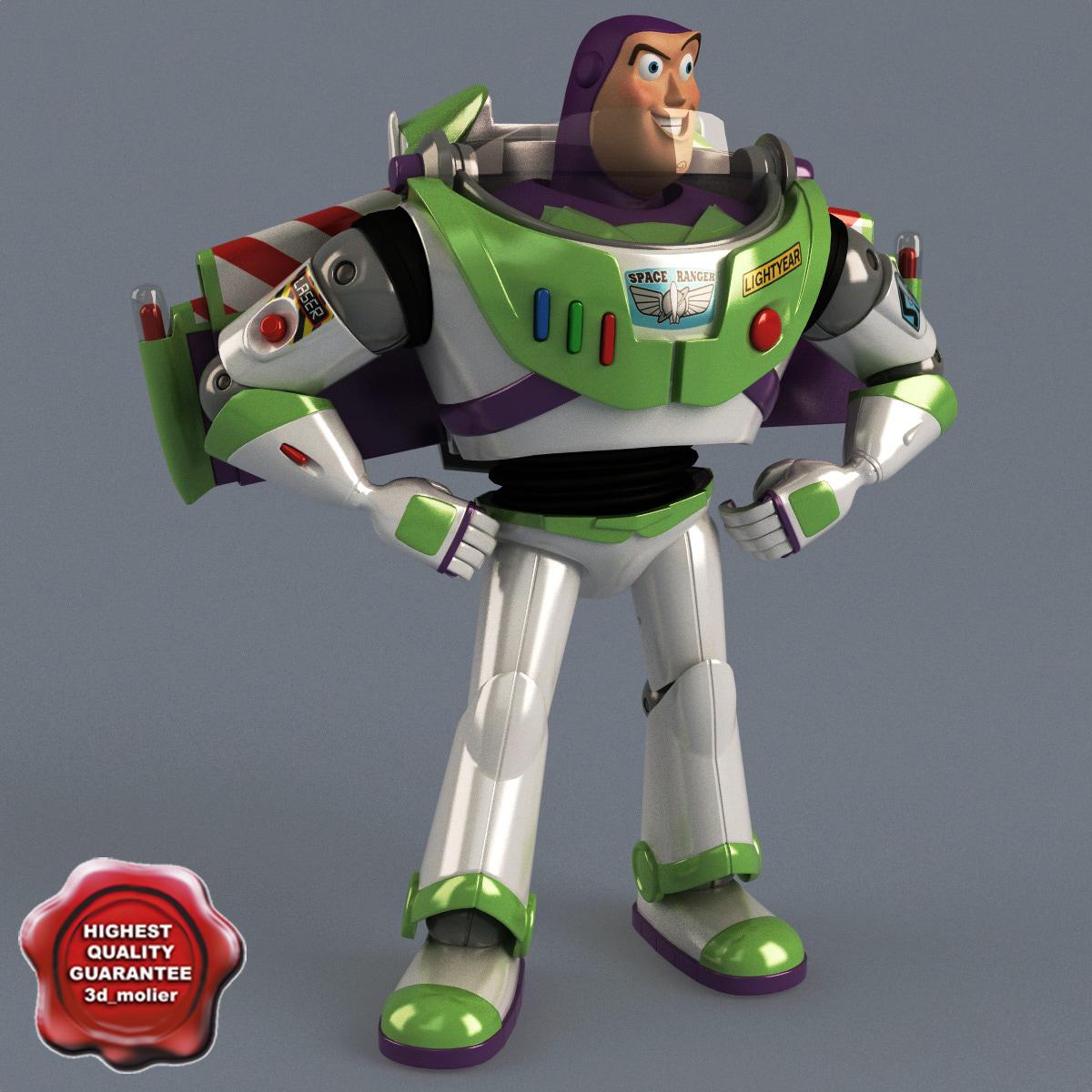 Buzz Lightyear Pose 1
