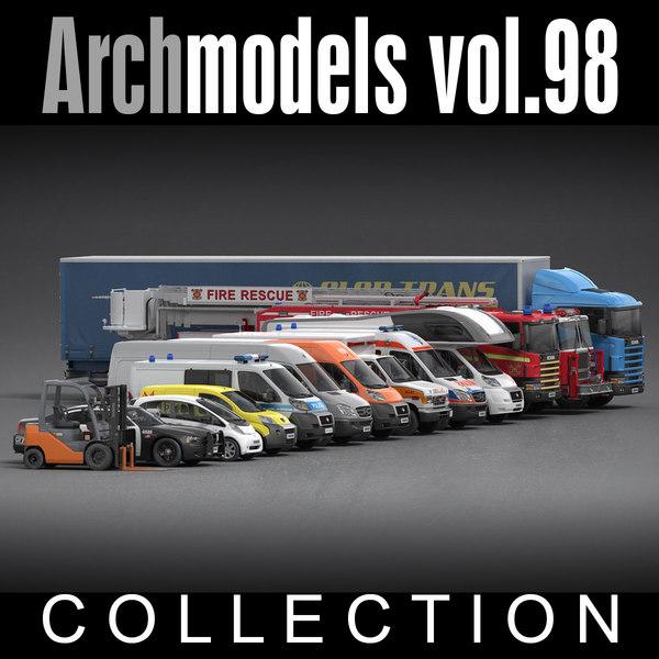 Archmodels vol. 98 3D Models