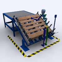palletized load system 3D models