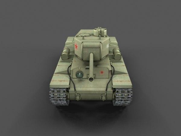 KV-220 (Klementi Vorochilov) 3D Models