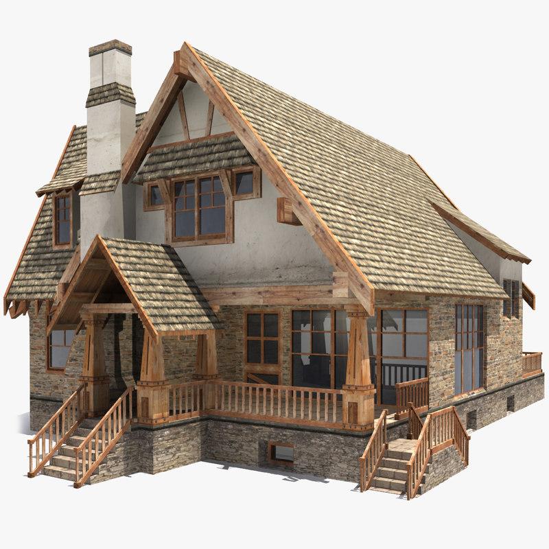 3d Модели Домов Скачать Бесплатно