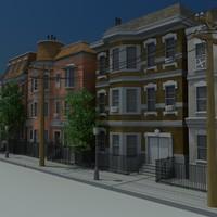 brownstone 3D models