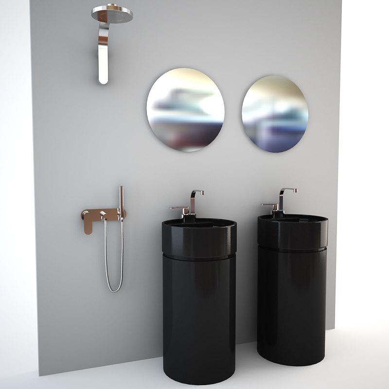 3d flaminia bath bathroom