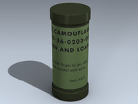 face camouflage 3D models