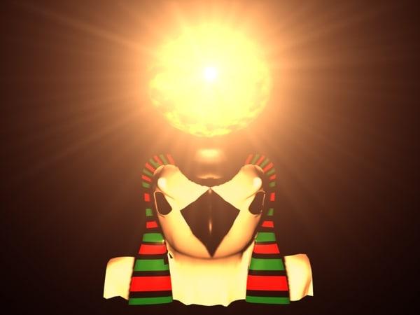 Rah Sun God 3D Models