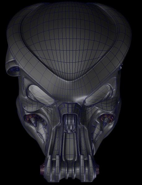 Celtic Predator Bio Helmet 3D Models