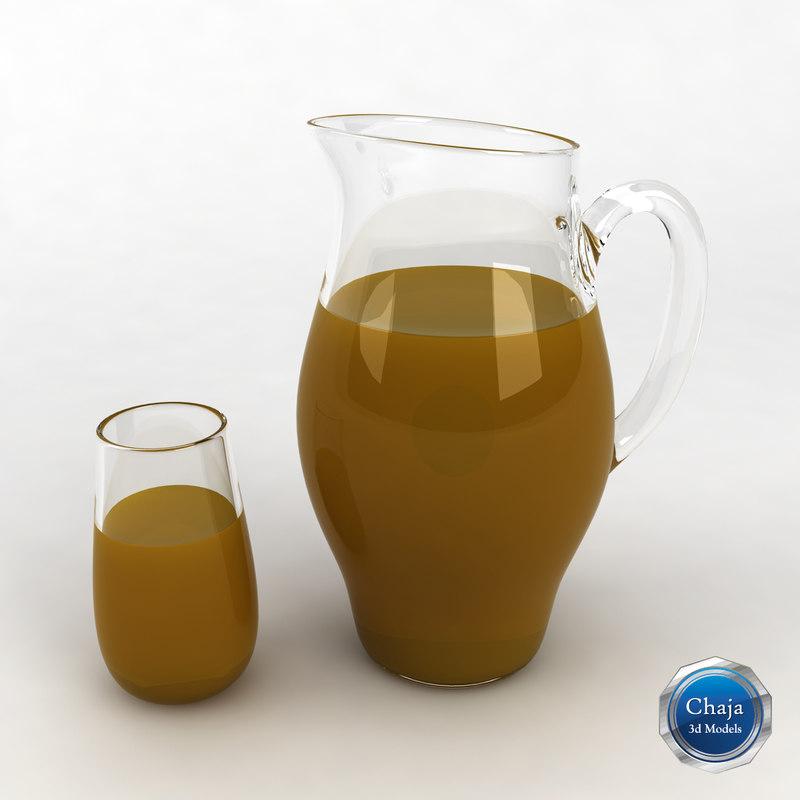 Glass Juice Pitcher_03