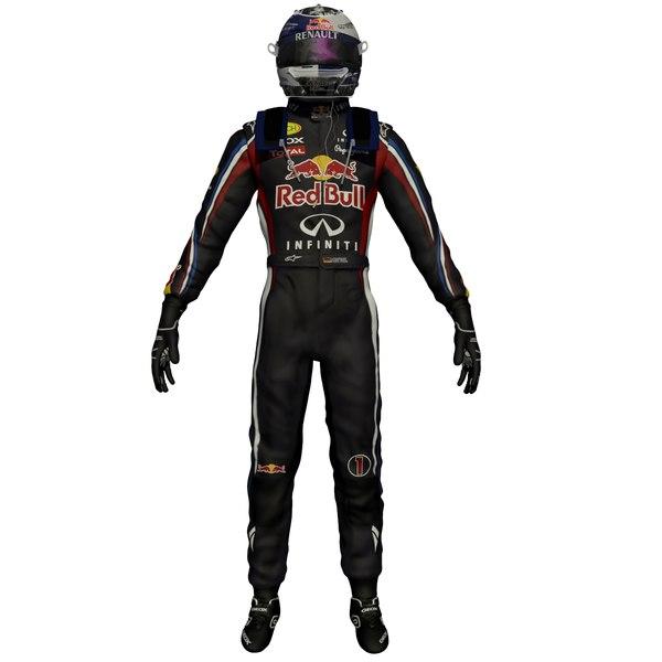 Sebastian Vettel 3D Models