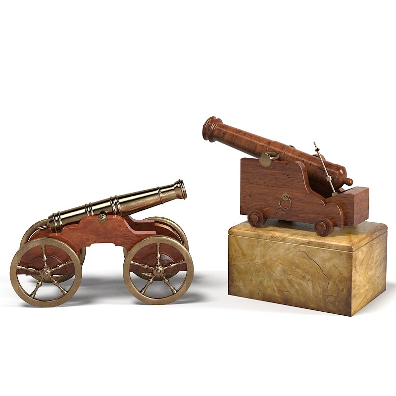Trafalgar cannon sculptural sea battle theodore alexander accessory home decor accent decorative classic war al10085.jpg
