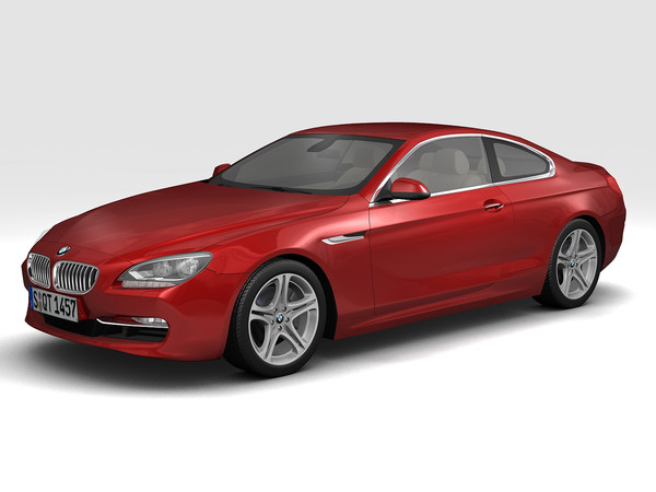 2011 BMW 6 Series Coupe 3D Models