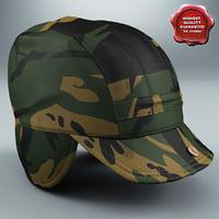 field hat 3D models