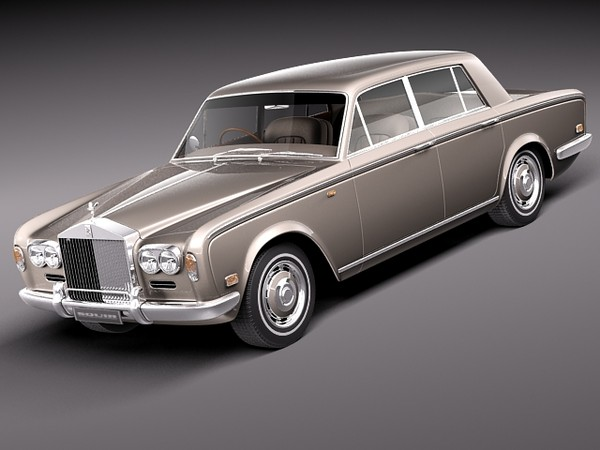 Rolls Royce Silver Shadow 1965–1980 3D Models