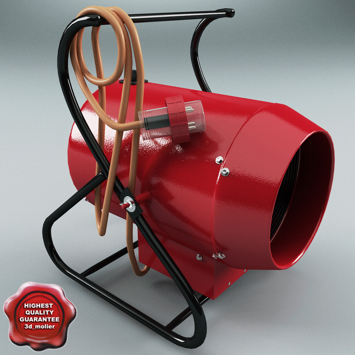 Industrial Heat Blower : Ds max electric portable heat blower